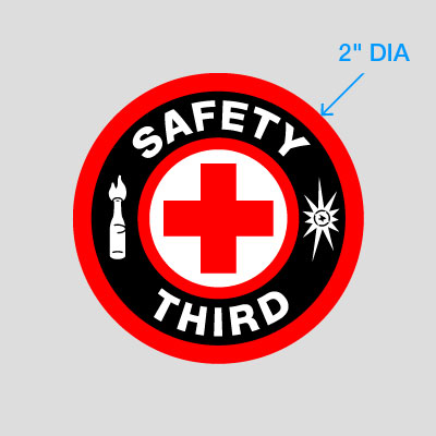 Buy 'Safety Third' Stickers