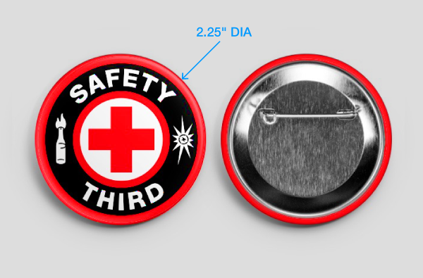 Buy 'Safety Third' Button