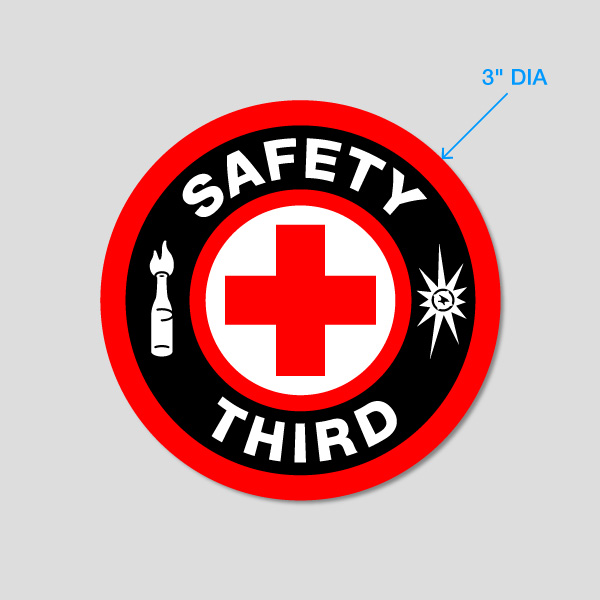 Buy 'Safety Third' Magnet